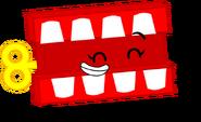 Chattering Teeth Pose
