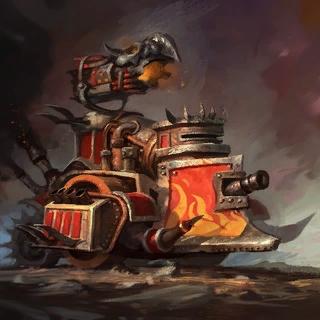 Artwork Thunder Wagon