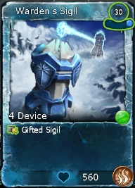Gifted Warden's Sigil-0