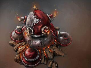 Artwork Fire Bomb