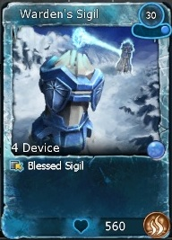 Blessed Warden's Sigil-0
