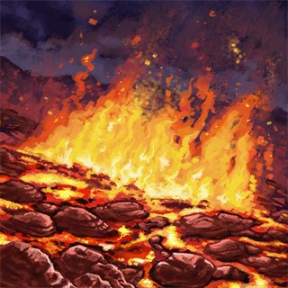 Artwork Lava Field