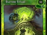 Burrow Ritual