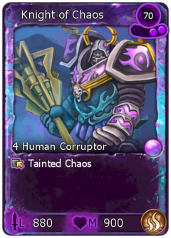 Tainted Knight of Chaos-0