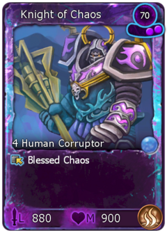 Blessed Knight of Chaos-0