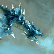 Frost dragon artwork