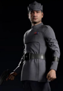 Clone Officer closeup