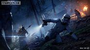Ewoks vs Stormtroopers