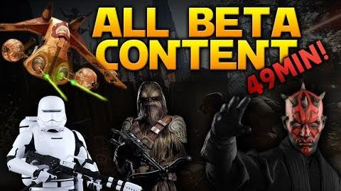 ALL CONTENT IN THE BETA! - Battlefront 2 Gameplay (20 Vehicles, 7 Specials, 4 Heroes & NEW Blasters)