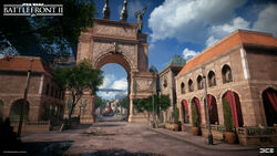 Naboo Theed Arch - Anton Ek DICE