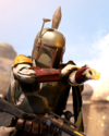 SWBFII DICE Boost Card Boba Fett - Intense Barrage large
