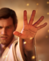 SWBFII DICE Boost Card Obi-Wan Kenobi - Give It All large