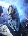 Boost Card Lando and L3-37 Millennium Falcon - Engine Upgrade
