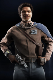 Lando closeup