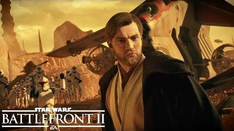 Star Wars Battlefront II Battle of Geonosis Official Trailer