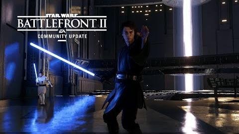 Star Wars Battlefront II Community Update – Anakin Skywalker