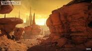 Geonosis Trippa Hive - Rock Formation Canyon - Pontus Ryman DICE
