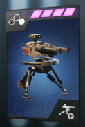 SWBFII DICE Ability Card Officer - Improved Blaster Turret