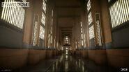 Naboo Theed Small Hangar Hallway - Anton Ek DICE