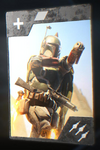 SWBFII DICE Boost Card Boba Fett - Death From Above
