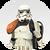 Stormtrooper Orange Body Icon