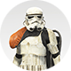 Stormtrooper Orange Body Icon