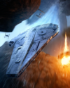 Boost Card Lando and L3-37 Millennium Falcon - Elite Pilot