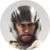 Human 10 - Anton - Helmet Beard Icon