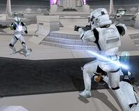 Anti trooper pistol