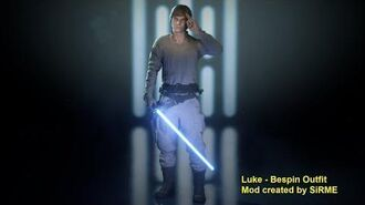 Luke Bespin Outfit Mod Star Wars Battlefront 2