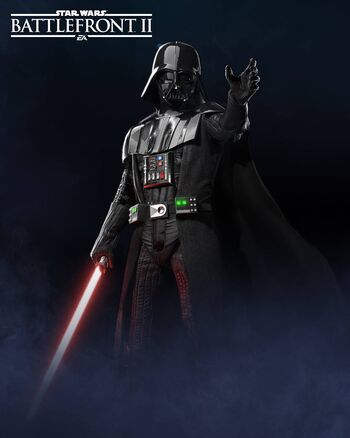 Darth Vader in Battlefront 2
