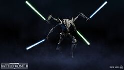 General Grievous Four Lightsabers - Battlefront II