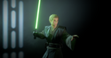 Anakin-skywalker-padawan-green lightsaber