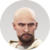 Human 6 - Nils - Bald Beard Icon