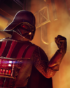 SWBFII DICE Boost Card Darth Vader - Furious Resilience large