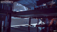 Death Star II Concept Art - Construction - Esbjörn Nord