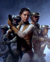 SWBFII DICE Boost Card Leia Organa - Stay Together large