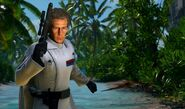 Orson Krennic with his gun In Battlefront