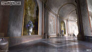 Naboo Concept Art - Royal Palace Corridor - Joseph McLamb