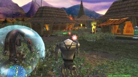 Star Wars Battlefront 1 gameplay Kashyyyk Islands Clone Wars mission 3