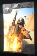 SWBFII DICE Boost Card Boba Fett - Fuel Efficiency
