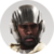Human 8 - Juan - Helmet Beard Icon