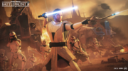General Kenobi on Geonosis - Battlefront II