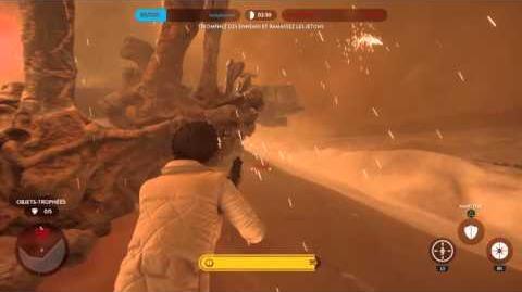 Battlefront - Bataille Tatooine Héros - Solo sans mourir