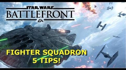 FIGHTER SQUADRON TIPS & TRICKS! Star Wars Battlefront Guide