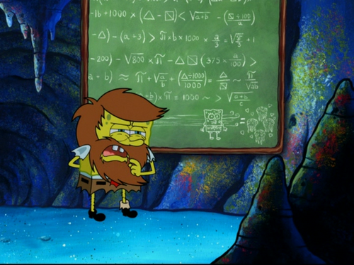 SpongeBob Calculus Math
