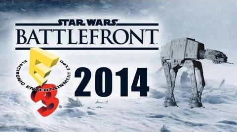 Star Wars Battlefront E3 2014 Trailer Incoming Multiplayer Gameplay Xbox One Playstation 4 PS4 PC
