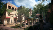Naboo Theed Courtyard - Anton Ek DICE