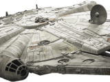 Han Solo and Chewbacca's Millennium Falcon