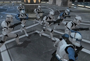 501st phase I clones on kamino